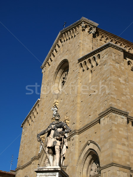 Gótico catedral porta escada portão Foto stock © wjarek