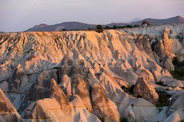 The sunrise over Cappadocia. Turkey Stock photo © wjarek