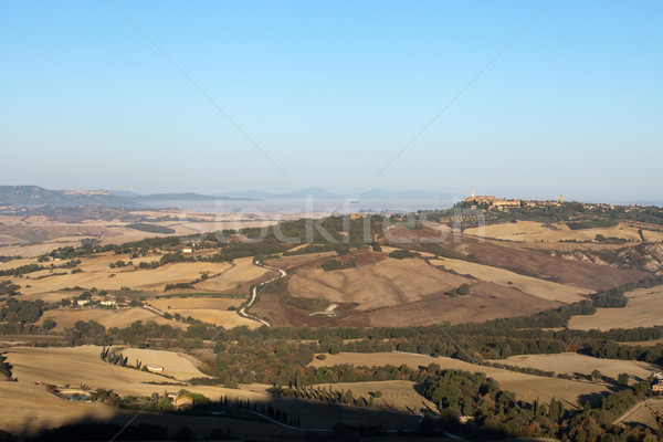 The hills around Pienza and Monticchiello   Stock photo © wjarek