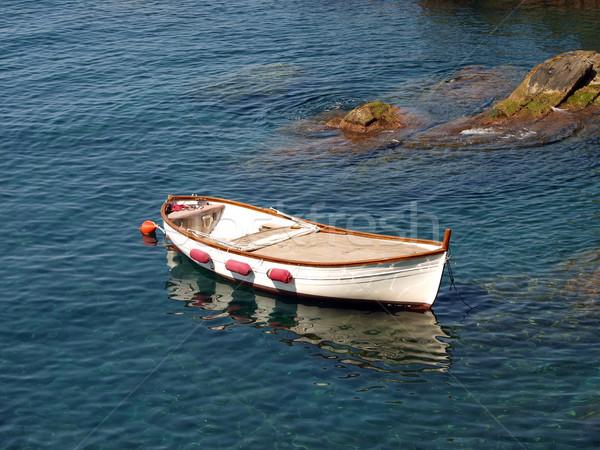 Vissersboot Italië zee wereld boot vissen Stockfoto © wjarek