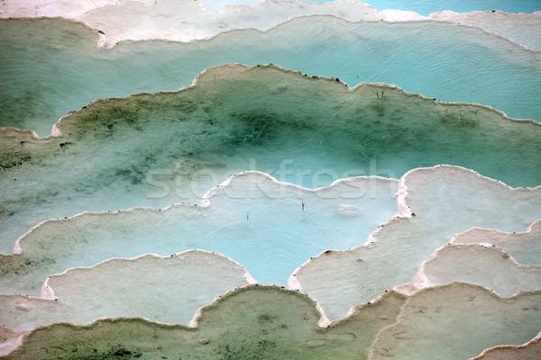 Törökország víz tavasz hegy medence kék Stock fotó © wjarek