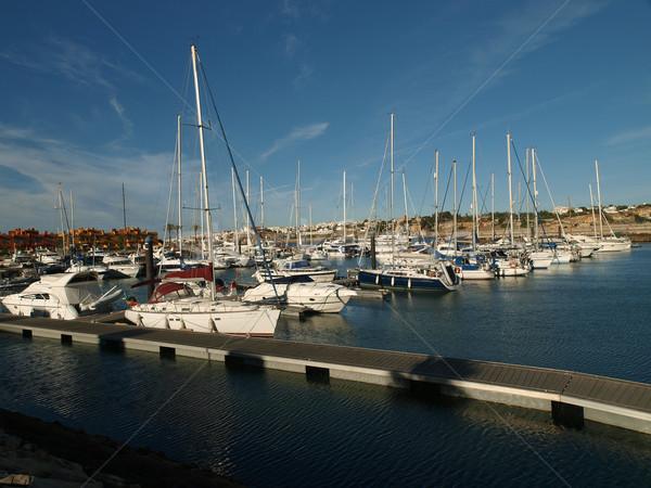 Yacht marina in Portimao. Algarve, Portugal  Stock photo © wjarek