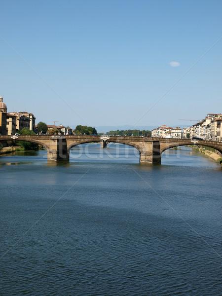 Florence - the Arno river  Stock photo © wjarek