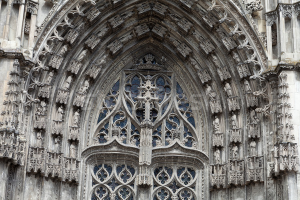 Gothic cathedral of Saint Gatien in Tours; Loire Valley; France Stock photo © wjarek