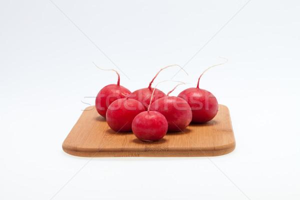 Giardino ravanello strada frutta sfondo Foto d'archivio © wjarek