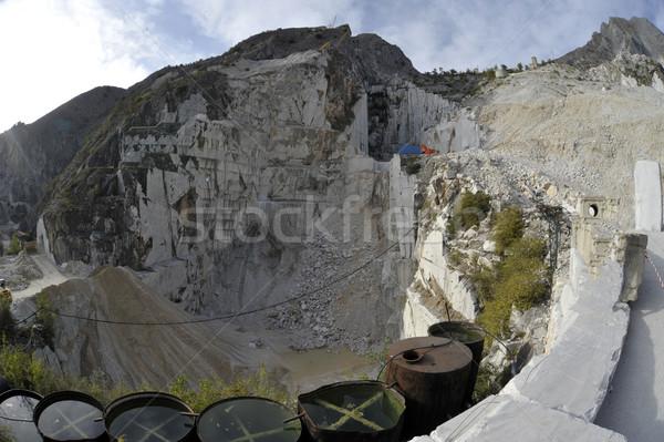 The Marble Quarries - Apuan Alps , Carrara Stock photo © wjarek