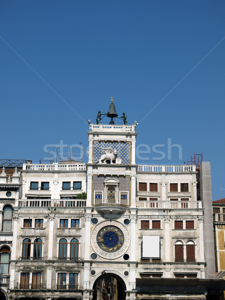 Venice - The Torre dell'Orologio on St Mark's Square. Stock photo © wjarek