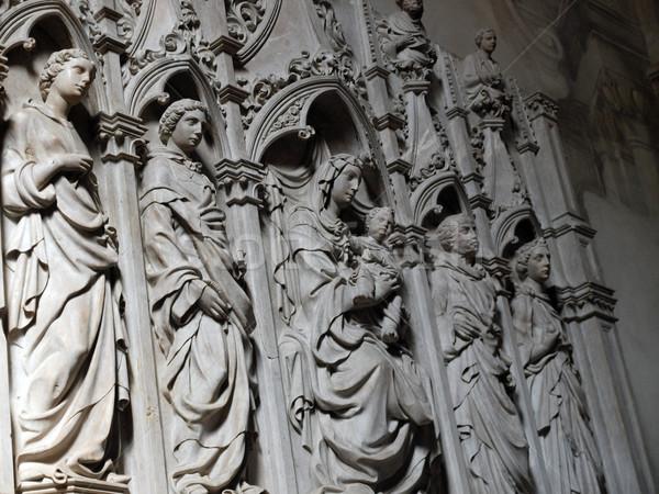 Lucca - San Frediano Church - interior Stock photo © wjarek