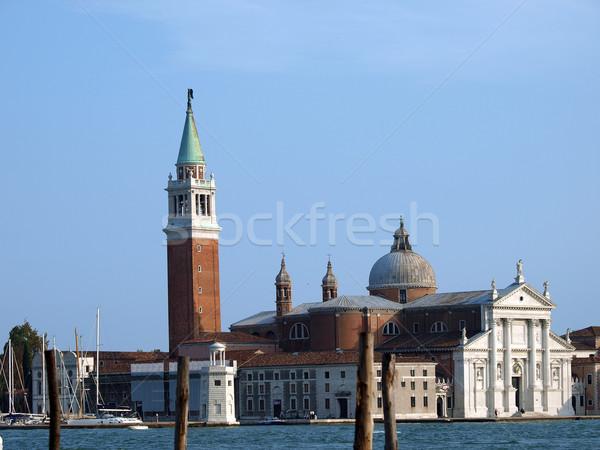 Venice - basilica of San Giorgio Maggiore. Stock photo © wjarek