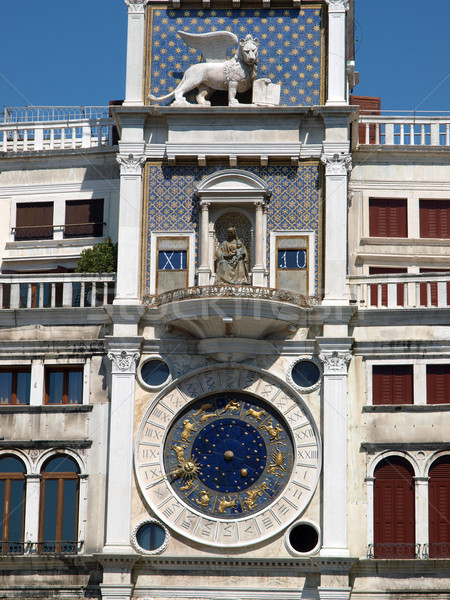Venice, Torre dell'Orologio Stock photo © wjarek