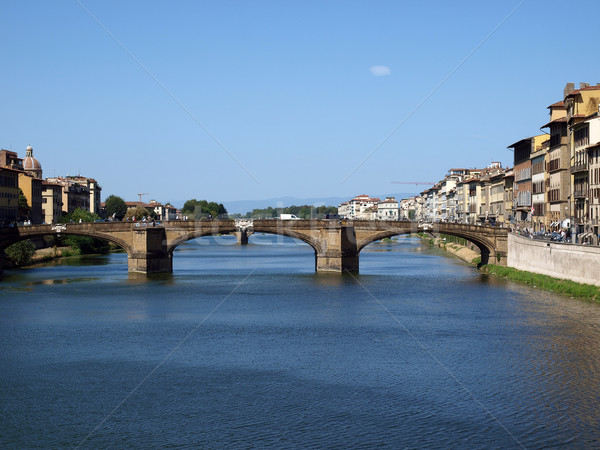 Florence - the Arno river  Stock photo © wjarek
