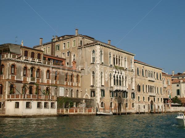 Venice - Canal Grande Stock photo © wjarek
