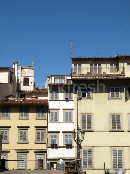 Piazza de Pitti - Florence , Tuscany, Italy Stock photo © wjarek