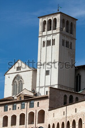 Stock photo: Basilica of Saint Francis, Assisi, Italy