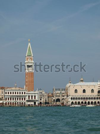 Seaview of Piazzetta San Marco and The Doge's Palace, Venice Stock photo © wjarek