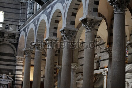Duomo interior - Pisa, Tuscany Italy Stock photo © wjarek