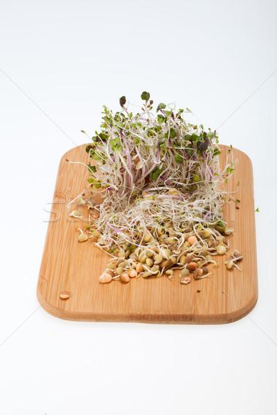 Dieta saudável fresco isolado branco comida natureza Foto stock © wjarek