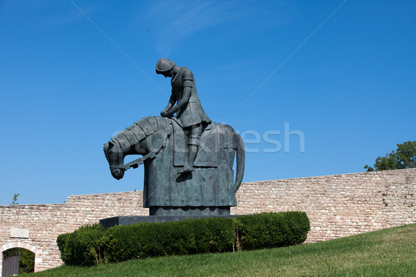 Stock photo: Knight of St. Francis - Assisi