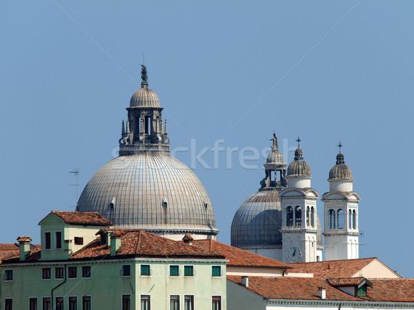 Venice - Basilica di Santa Maria Della Salute Stock photo © wjarek