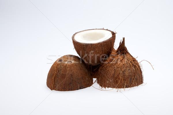 coco nut isolated Stock photo © wjarek