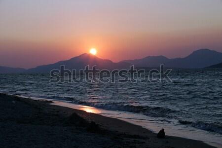 sunset on the Aegean Sea  Stock photo © wjarek