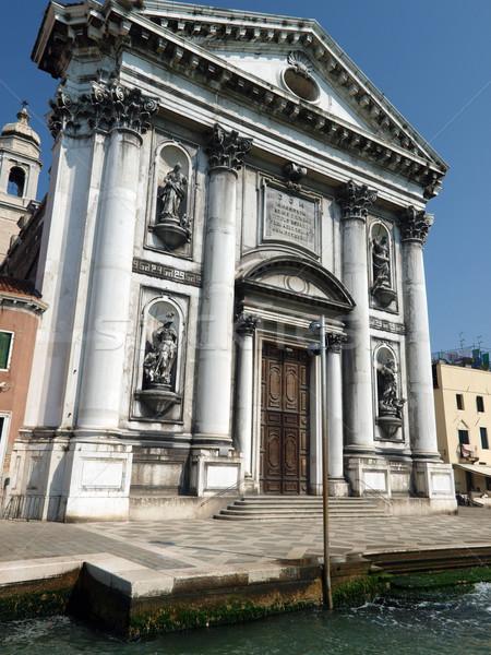 The Church of I Gesuati  on the Zattere in Venice Stock photo © wjarek