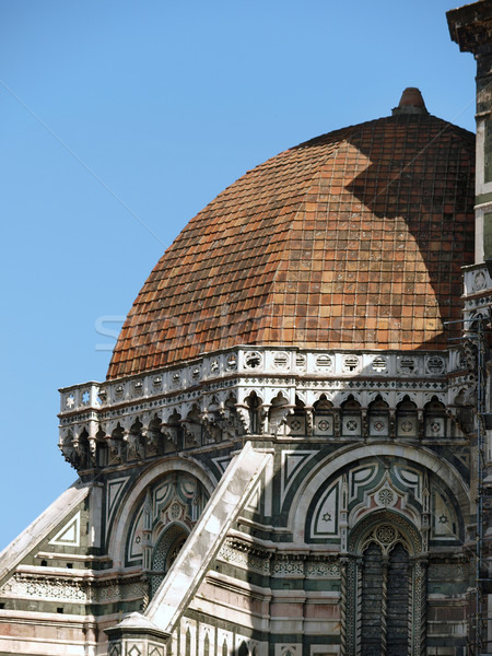 FLORENCE basilique design art architecture Photo stock © wjarek