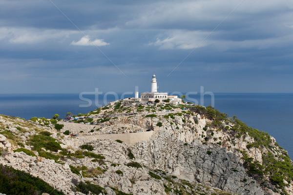 Lighthouse on Cap de Formentor. Majorca island, Spain Stock photo © wjarek