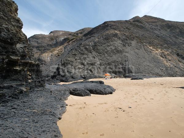 Praia do Castelejo, near Vila Do Bispo, Algarve, Portugal Stock photo © wjarek