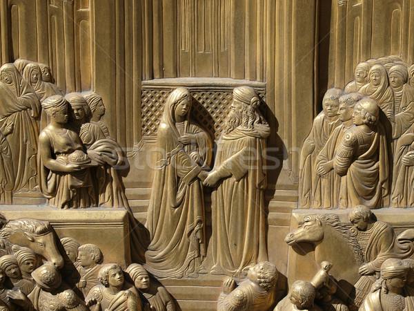 Florence - Baptistery Stock photo © wjarek