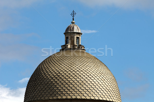 Pisa - Camposanto dome relating to the blue sky  Stock photo © wjarek