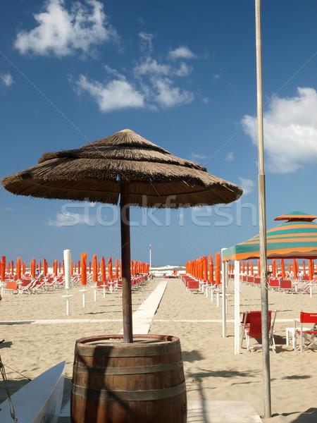 morning in the seaside resort Stock photo © wjarek