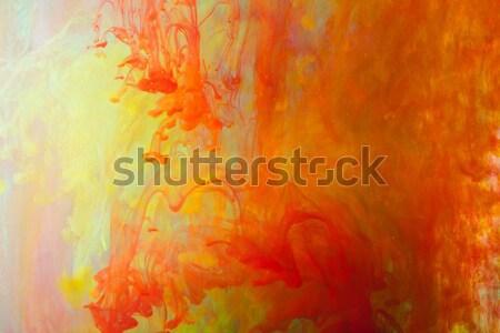 Absztrakt tűz terv energia szín tapéta Stock fotó © wjarek