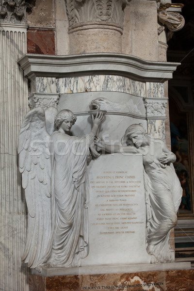 Rome - The Church of Santa Maria del Popolo Stock photo © wjarek