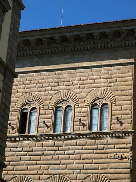 Florence pitoresco antigo arquitetura cidade centro Foto stock © wjarek