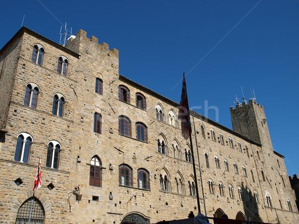 Palazzo dei Priori - Volterra ,Tuscany Stock photo © wjarek