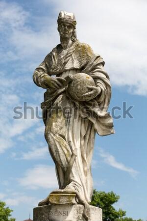 Stockfoto: Rome · fontein · stad · vis · architectuur · witte