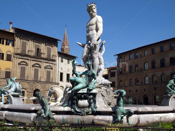Fountain of Neptune Stock photo © wjarek