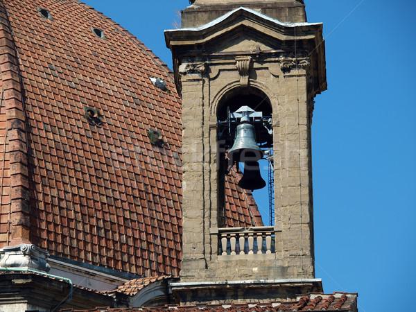 Florence bazilika művészet templom építészet márvány Stock fotó © wjarek