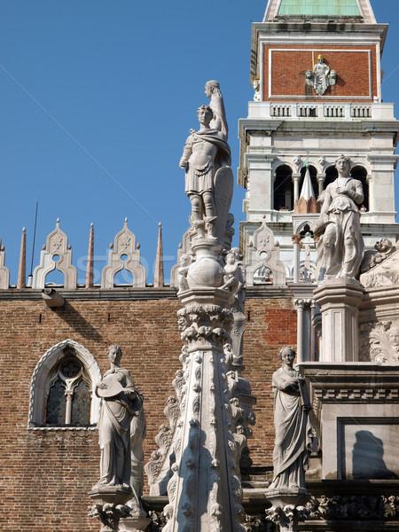 Courtyard of the Doge's Palace in Venice Stock photo © wjarek