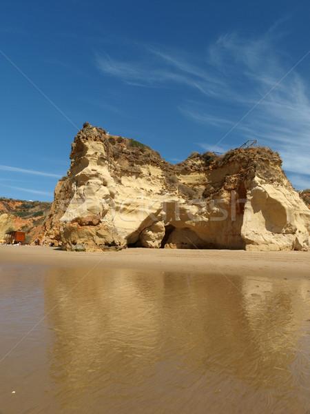 Idyllisch strand regio water natuur Stockfoto © wjarek