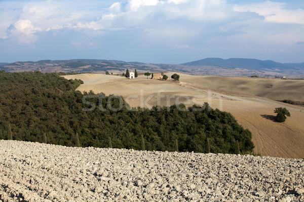 Cappella di Vitaleta , Val d'Orcia in Tuscany Stock photo © wjarek
