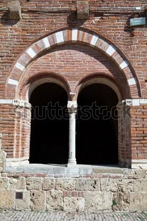 Abbey of San Galgano, Tuscany, Italy Stock photo © wjarek