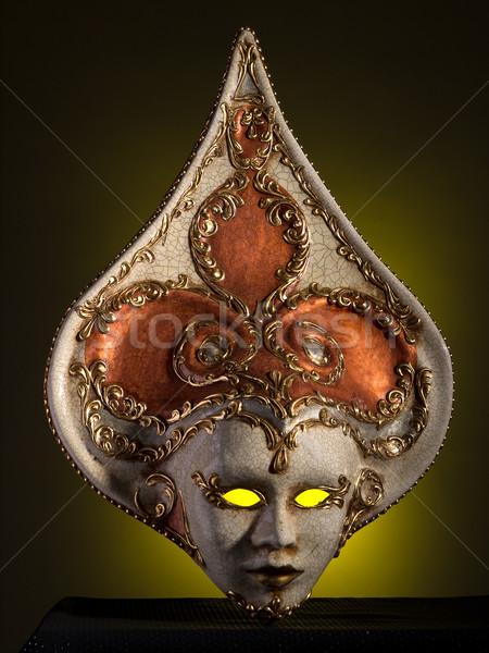 magical-looking old Venetian mask Stock photo © wjarek