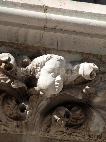 Imperishable beauty of details on the Doge's Palace, Venice, Stock photo © wjarek