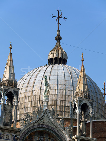 Venice - the dome on the roof of the Basilica of St. Mark Stock photo © wjarek