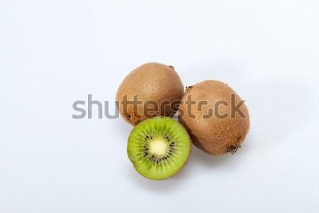 Kiwi vruchten geïsoleerd witte voedsel achtergrond Stockfoto © wjarek