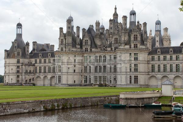 Castle of Chambord in Cher Valley, France Stock photo © wjarek
