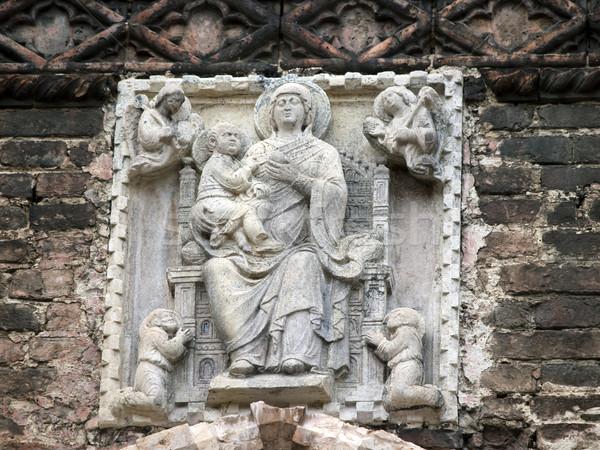 Detail from The church of Santa Maria Gloriosa dei Frari - Venice Stock photo © wjarek