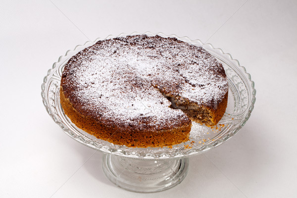 Home made cake with different kinds of nuts Stock photo © wjarek